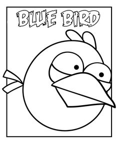 Angry Birds Coloring Pages Coolcoloringpagesblogspot 2011