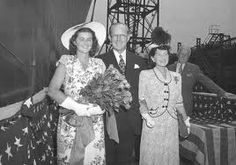, and Rose Kennedy pose for a photo before the launching. Jean, the sister of Joseph Jr, was the sponsor for Joe Kennedy Sr, Rose Kennedy, Ethel Kennedy, Irish Catholic, Kennedy Assassination, John Fitzgerald, Joseph, Marriage, Google Search
