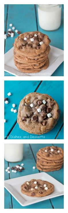 Hot Chocolate Cookies - a favorite winter drink in the form of a chewy cookie!