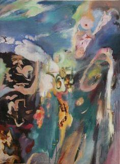 "Saatchi Art Artist Jim Abuan; Painting, ""Upside Down Surfer"" #art"