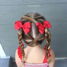 Best Hairstyle For Indian Brides Toddler hair Lil Girl Hairstyles, Princess Hairstyles, Pretty Hairstyles, Braided Hairstyles, Toddler Hairstyles, Hairstyle Ideas, Wedding Hairstyles, Makeup Hairstyle, Modern Hairstyles