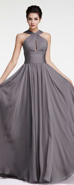 Charcoal bridesmaid dresses long halter bridesmaid dresses plus size