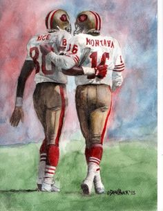 Joe and Jerry by Dean Huck on ARTwanted