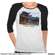 Woman's T-shirt, Size S, China