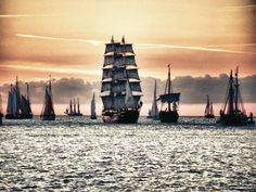 tall ships. Pic by Pixelino