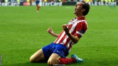 Uefa Champions League final 2014: Atletico Madrid v Real Madrid.  15 PHOTOS ... Real Madrid wins their 10th European Cup. ...Real come from behind to win in extra time.  http://softfern.com/NewsDtls.aspx?id=864&catgry=6