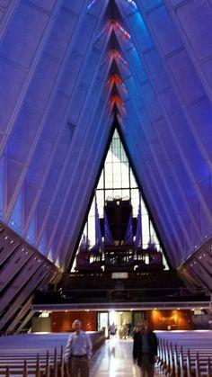 Mille Fiori Favoriti: The US Air Force Cadet Chapel