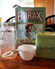 The Creek Line House: The Very Best Homemade Ant KillerIt's so simple but so powerful. You'll need: 1 cup of sugar, 1/2 cup of water,1 Tablespoon of Borax.