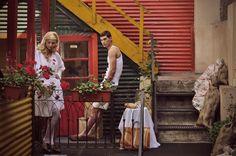 PH: Andee Astrada   Prod: Sheena Breppe - Ma. Victoria Agriela  Dir. Arte: Mel Ruiz   Make Up & Styling: Fernanda Garramone   DG: Sofi Caamaño  Modelos: Ayelen Canosa - Pablo Ferrari