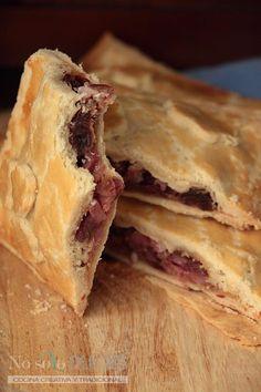 No solo dulces - Empanada de dátiles, bacon y queso