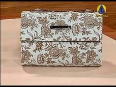 handbag cartonnage video tutorial
