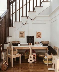 The most darling little play corner!
