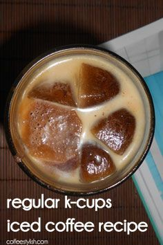 How to Make Iced Coffee With Keurig