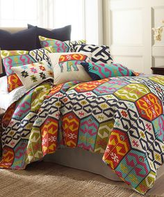 Levtex Home Malawi Twin Quilt Set - Multi Decor, Furniture, Room, Mattress Furniture, Home, Bed, Levtex, Bedding Sets, Bedroom