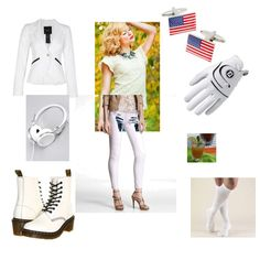 Bring on the whites! A fun entry in the Memorial Day BBQ mission #fashion #contest #outfit