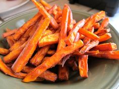 Easy sweet potato fries recipe