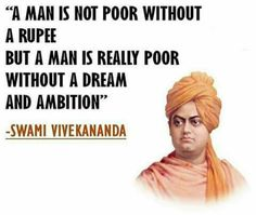 A man is not poor without a rupee But a man is really poor without a dream and ambition. Life Lesson Quotes, Real Life Quotes, Best Quotes, Quote Life, Life Lessons, Wisdom Quotes, Words Quotes, Qoutes, Sayings