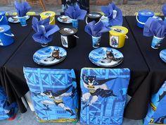 Fiestas Infantiles Decoracion: Decoración de Fiestas Infantiles de Batman