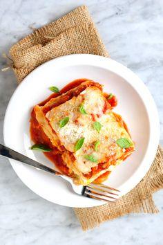 Classic Three-Cheese Lasagna image