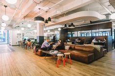 WeWork, a popular coworking platform that rents office space to freelancers, entrepreneurs and startups, recently opened a new location at 1460 Broadway in New York City.
