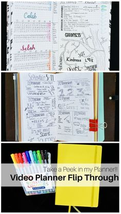A Video Flip Through my Planner A Video Flip Through my Planner Leyona Coffey mzcoffdrizzzy Drawing Take a Peek in my Planner with this video flip through in my bullet journal!