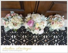 wedding at epiphany church - flowers by CH Creations - Christy Hevia