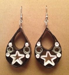 earrings with stars