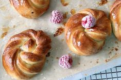 Lemon Glazed Brioche Robes – Passion 4 baking