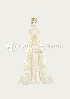Bridal Illustration | DANILO ATTARDI