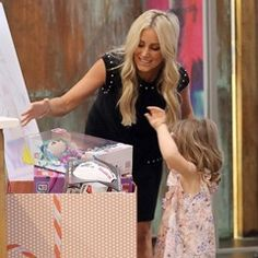 EXCLUSIVE: Roxy gifts back: PR queen does her bit for charity donating toys to needy children