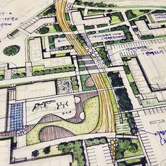 Bs #Environmental #Design #Group #LandscapeArchitecture & #Associates #sketch #drawing #plan #note #conceptplan