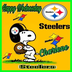 Steelers Pics, Champion, Snoopy, Happy, Fictional Characters, Art, Art Background, Kunst, Ser Feliz