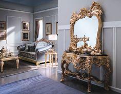 Как произведение искусства коллекции от Arredo e Sofa органично вписываются в любой роскошный интерьер в классических традициях. Эксклюзивные и весьма трудоемкие в изготовлении декоративные элементы из ценных пород дерева, высококачественные наполнители, великолепные обивочные ткани, безукоризненный крой, отделка блистательными кристаллами от Swarovski — все это позволяет мягкой мебели Arredo e Sofa заслужено относится к категории «элитная итальянская мебель».