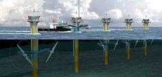 Brasil ya obtiene electricidad de las olas mareomotriz