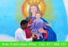 Arte y Publicidad Villar impacto Original de la Obra a Nuestro Producto