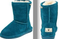 love these blue bearpaw boots