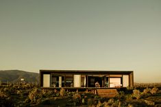 My ideal first home, simple and open. B8 House by 56.02 Huentelauguen, Chile