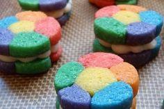 Foto de la receta de galletas de colores