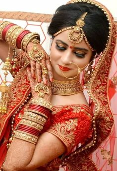 Bridal makeup: work of a trained MUA