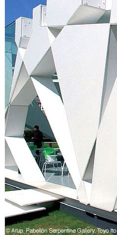 Toyo Ito - serpentine gallery pavillion