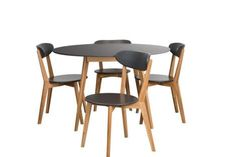 Oslo White Round 5 Pce Dining Set by Estudio Furniture. Get it now or find more Dining Sets at Temple & Webster.