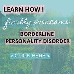 Healing From BPD - Borderline Personality Disorder Blog: The Sadness Spiral (BPD and Afraid to Feel)