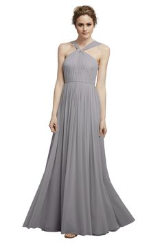 Shop Donna Morgan Quick Delivery Style - Ava in Polyester Mesh at Weddington Way. Find the perfect made-to-order bridesmaid dresses for your bridal party in your favorite color, style and fabric at Weddington Way.