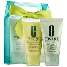 CLINIQUE - Sparkle & Glow for Combination Oily to Oily Skin #sephora