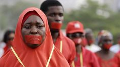Protesters around the world have vowed to remember the 219 girls abducted by the Nigerian militant Islamist group Boko Haram one year ago. A procession is being held in Nigeria's capital, Abuja, with 219 girls taking part to represent each missing girl.