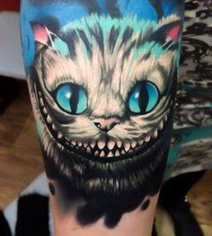 caterpillar tattoo alice in wonderland - - Yahoo Image Search Results Alice And Wonderland Tattoos, Cheshire Cat Alice In Wonderland, Body Art Tattoos, Cool Tattoos, Tatoos, Caterpillar Tattoo, Cheshire Cat Tattoo, Creepy Cat, Twisted Disney