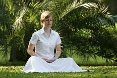 Pranayama and simple breathing exercise can help calm the mind.