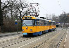 Trams in Leipzig