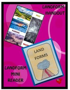 Landforms Flip Book 2 by A Thinker's Toolbox is an fun activity that your 1st and 2nd Graders can do to learn more about these landforms; plateaus, islands, hills and volcanoes.