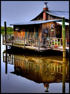 fishing cottage - tin roof, fishing everyday, I could live with that :)